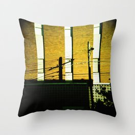 Shadows, Sydney Throw Pillow