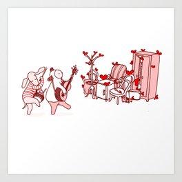 Serenade The Furniture Art Print