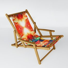 Senbazuru rainbow Sling Chair
