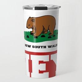 Syd The Wombat Travel Mug
