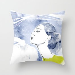seacret 1 Throw Pillow