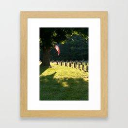 Fallen #9 Framed Art Print
