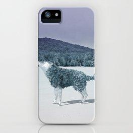 Lonewolf iPhone Case