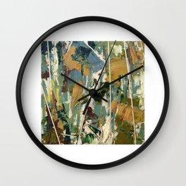 Moss Study 3 Wall Clock