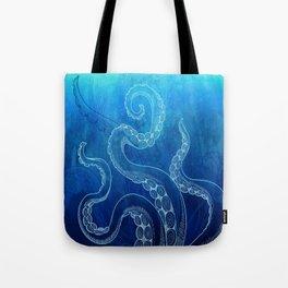 Octopus Tentacles Watercolor Tote Bag