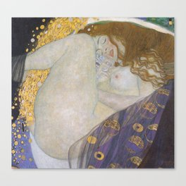 Danae by Gustav Klimt Canvas Print
