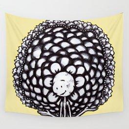 """""""Keep Blooming"""" Flowerkid Wall Tapestry"""