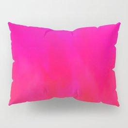 Fuchsia Fire Magenta Violet Ombre Pillow Sham