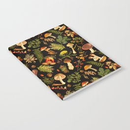 Vintage & Shabby Chic - Autumn Harvest Black Notebook