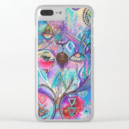 The Goddess Clear iPhone Case