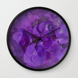 Purple hue Wall Clock