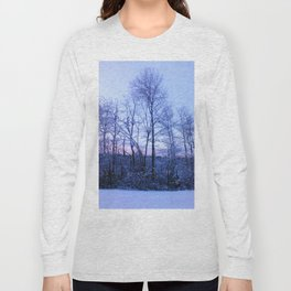 snow trees II Long Sleeve T-shirt