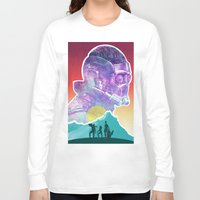 starlord Long Sleeve T-shirts featuring Starlord...Who? by DamianSantamaria