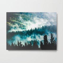 Adventure Forest IV - Pacific Northwest Wanderlust Metal Print