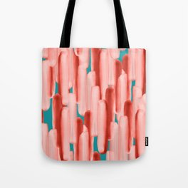 Live In Coral #society6 #abstractart Tote Bag