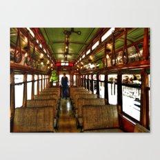 Trolley Train Canvas Print
