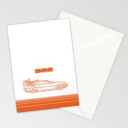 Back To The Future - Delorean - Stroke Stationery Cards