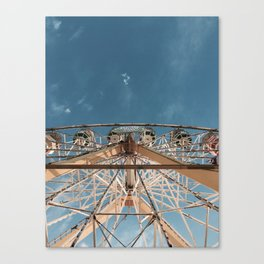 Love above the clouds Canvas Print