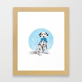 Dalmation Senstation Framed Art Print