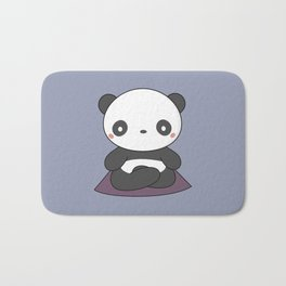 Kawaii Cute Yoga Panda Bath Mat