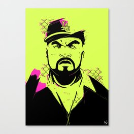 Gangsta rap made me do it Canvas Print