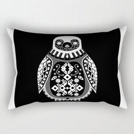Black Penguin. Rectangular Pillow