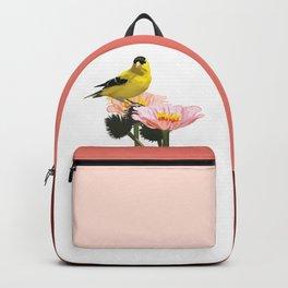 Goldfinch in the Garden Backpack