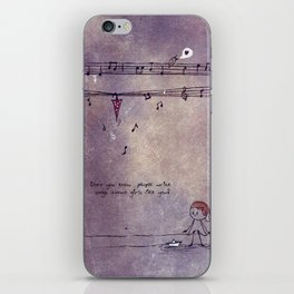 Unposted Letter -2 iPhone Skin