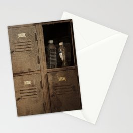 Vintage lockers Stationery Cards