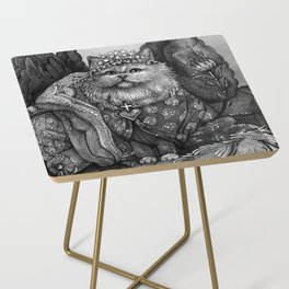 The Empress - Cat Tarot card Side Table