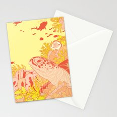 Blood Turtle Stationery Cards
