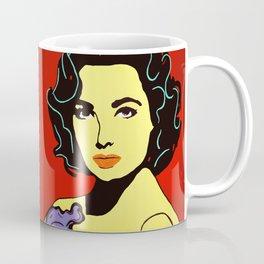 Elizabeth Taylor Art Print by Jossart © Coffee Mug