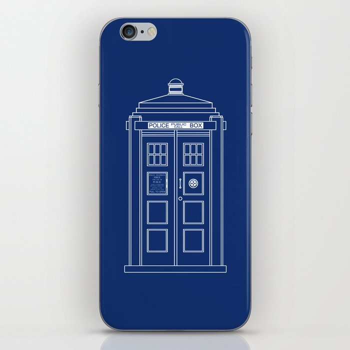 Tardis blueprint doctor who iphone skin by beckiboos society6 tardis blueprint doctor who iphone skin malvernweather Images