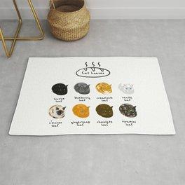 Cat Loaf Flavors Rug