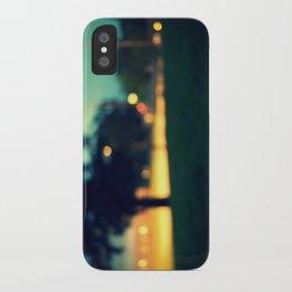 an evening in june iPhone Case