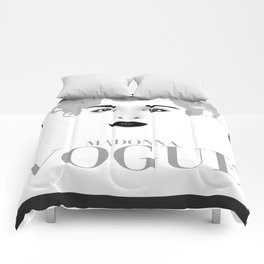 Madonna Vogue Comforters