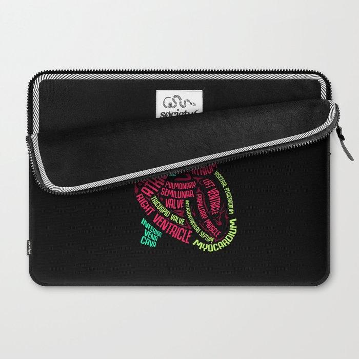 Anatomy of Heart. - Gift Laptop Sleeve