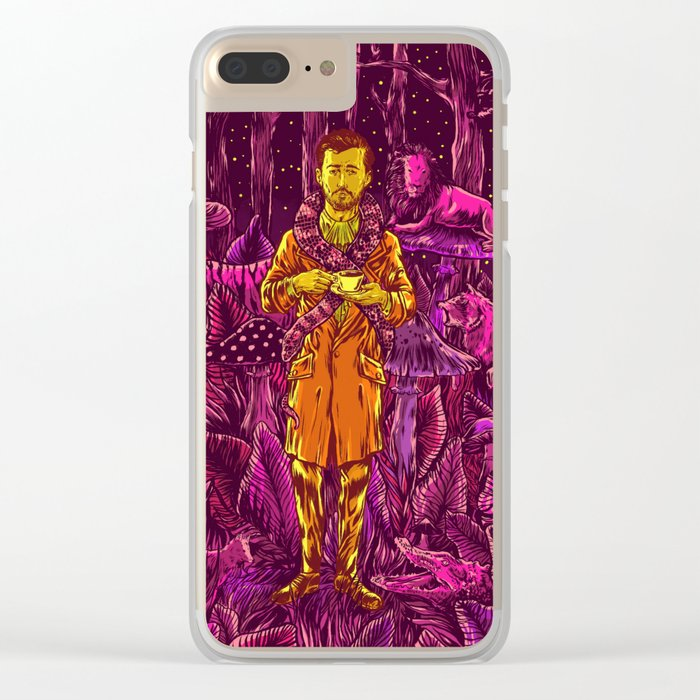 Adam in Wonderland Clear iPhone Case
