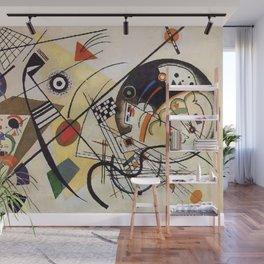 Transverse Line, Abstract, Wassily Kandinsky, 1923 Wall Mural