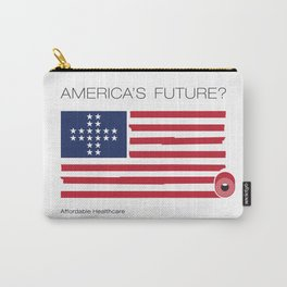 America's Future? Healthcare Carry-All Pouch