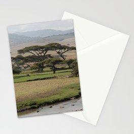 Omo Valley Brook Bala Mountains Landscape Ethiopia Africa Stationery Cards
