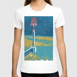 Seaview Fire Beacon in Turquoise T-shirt
