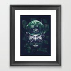 Depixelization L Framed Art Print