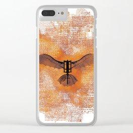 The Da Vinci Flying Machine Clear iPhone Case