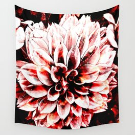 Strawberry Coated Flower Wall Tapestry