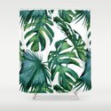 Classic Palm Leaves Tropical Jungle Green by followmeinstead