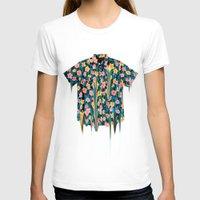 hawaii T-shirts featuring HEAVY HAWAII by Chris Bigalke