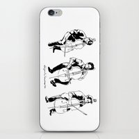 cello iPhone & iPod Skins featuring Cello player by Suzannah Rowntree