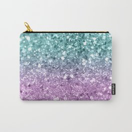 Mermaid Girls Glitter #6 #shiny #decor #art #society6 Carry-All Pouch