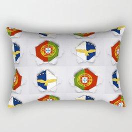 Portugal Azores Flags Rectangular Pillow